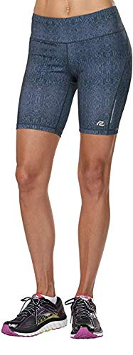 Road Runner Sports Women's SpeedPro Compression 8-inch Shorts with Pockets | Great for Yoga, Running and Fitness
