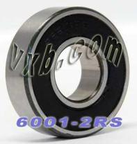 6001-2RS Sealed Bearing 12x28x8 Ball Bearings