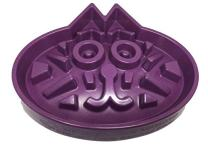 Simply Pets Online Slow Feed Cat Bowl - Large Puzzle Feeder for Cats and Small Dogs - Slow Down Eating - Eco-Friendly Bamboo Fibre - Designed by Veterinarians (Blue, Purple, Ivory)