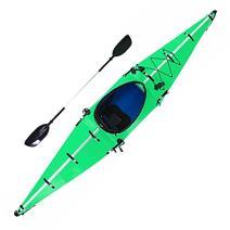 SKATEBOLT Folding Portable Kayak, 12ft Lightweight Paddle Boat for Beginners and Expert Kayakers