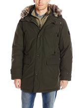 LONDON FOG Men's Snorkel Jacket with Bib
