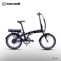 BENELLI Electric Bike City Zero N2.0 STD 20 Inch Foldable 250W New for Trunk Subway Bus Office Home with 36V 6.6Ah Samsung Lithium-ion Battery