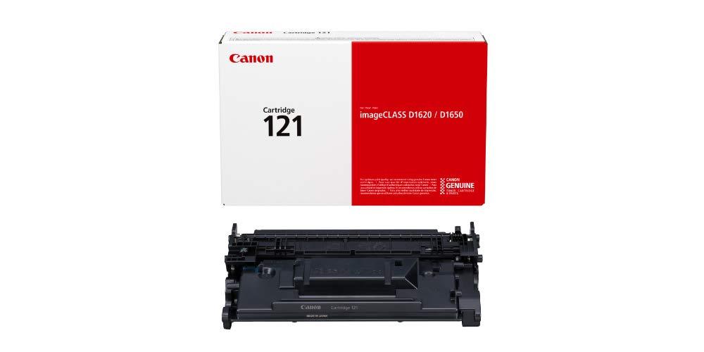 Canon Genuine Toner Cartridge 121 Black (3252C001), 1-Pack, for Canon imageCLASS D1650, D1620 Laser Printers