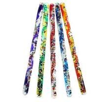 """Jumbo Spiral Glitter Wand .12"""" Wonder Glitter Tubes for Kids (ONE Random Color)"""