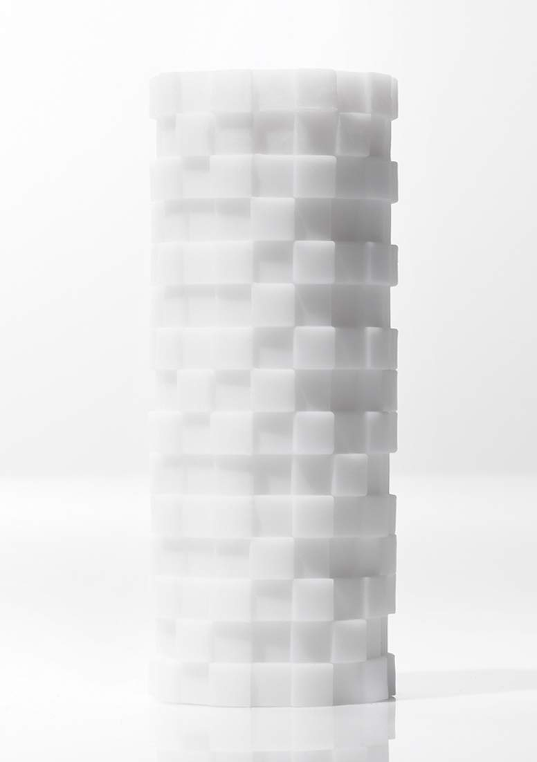 TENGA ZEN 3D Sensual Massage Male Masturbator, Soothing Sculpted Masturbation Sleeve for Men, Reusable Pleasure Device, TNH-002 MODULE