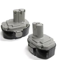 2 x ExpertPower 18v 3000mAh NiMh Extended Battery for Makita 1823 1833 1834 1835 1835F 192828-1 192829-9 193061-8 193102-0 193140-2 193159-1 193783-0