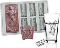 Star War Han Solo Candy Molds, Food Grade Silicone Han Solo Candy Making Mold and Ice Cube Tray, Silicone Ice Cube Trays