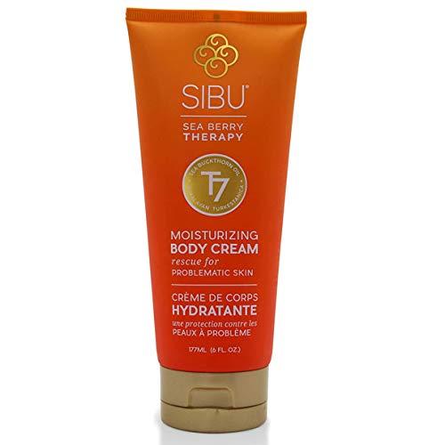SIBU Moisturizing Body Cream, Sea Buckthorn, 6 oz