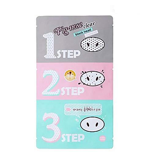 [Holika Holika] Pig Nose Clear Black Head 3-Step Kit (3 Set)
