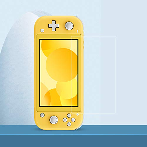 PERFECTSIGHT Anti Glare Reflective Tempered Glass Screen Protector Compatible with Nintendo Switch Lite 5.5 inch, [Eye Protection] [Great Gaming Experience] - Matte Clear 9H Anti Fingerprint 1 Pack
