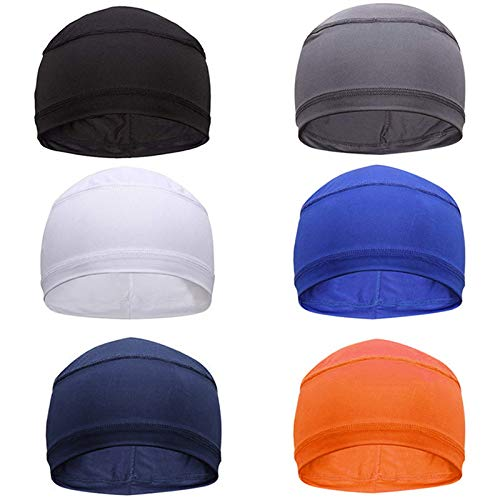 Sweat Wicking Helmet Liner, Running Hats Helmet Liner, Cooling Cap, Running Hat, Cycling Skull Caps for Men&Women