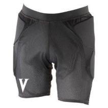 Vigilante Light Padded Shorts with Tailbone and Hip Padding for Snowboarding, Skiing, Skateboarding   Men's Version   Black