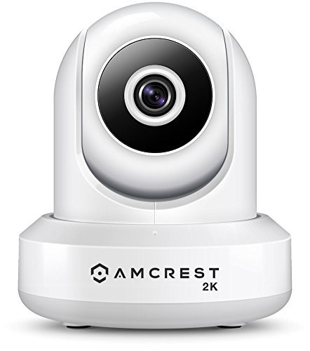Amcrest UltraHD 2K WiFi Camera 3MP (2304TVL) Dualband 5ghz / 2.4ghz Indoor IP3M-941 (White)