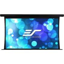 Elite Screens Yard Master Tension Series Projection Screen, 120-inch 16:9, Outdoor/Indoor Electric Motorized Front/Rear Wraith Veil Dual Projection Movie Screen, OMS120HT-ELECTRODUAL