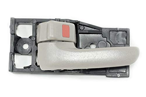 Sentinel Parts Compatible Replacement Interior Inside Left Driver Side Door Handle Gray Charcoal Fits 2000-2006 Tundra