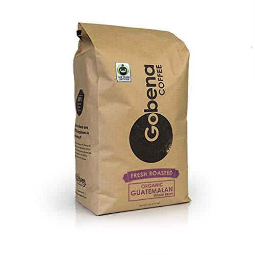5lb Fair Trade Organic Guatemalan Whole Bean Medium Roast Coffee