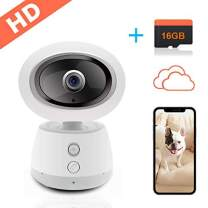 Security Video Wireless Home Cameras-Surveillance with Cloud Storage Night Vision Live IP WiFi Indoor House Camera Baby Monitor