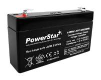 PowerStar SLA Backup Battery HIGH Rate SLA Battery Replacement for LC-R061R3PU