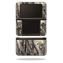 MightySkins Glossy Glitter Skin for Nintendo 3DS XL Original (2012-2014) - Tree Camo | Protective, Durable High-Gloss Glitter Finish | Easy to Apply, Remove, and Change Styles | Made in The USA