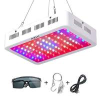1000W Grow Light, 2020 LED Plant Lights Full Spectrum Growing Lights with Eye Protection Glasses, Plant Growth with UV IR for Indoor Plants Veg and Flower (White)