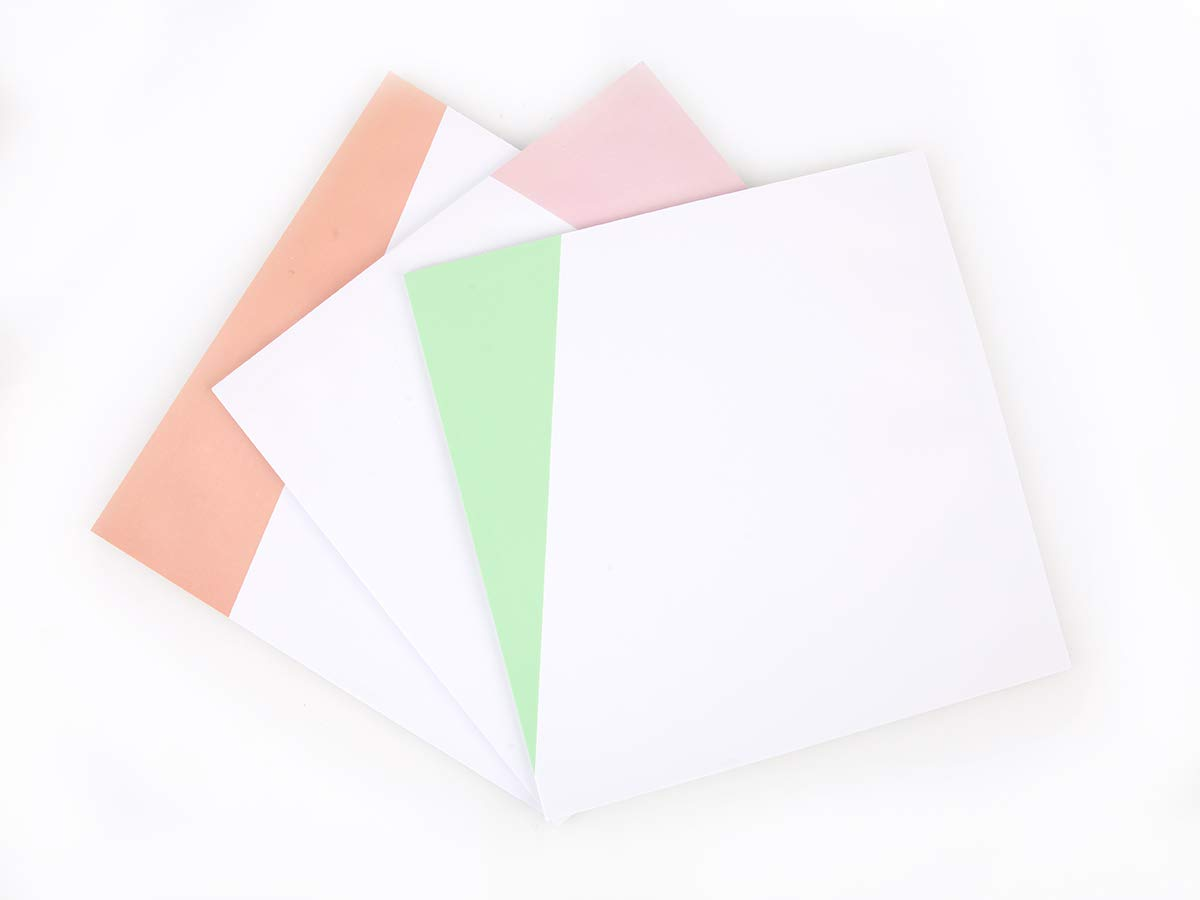"To Do List Notepad 8.5""X8.5"" Sticky Blank Writing Pad with Color Block for Organize Your Notes Tasks, 30 Sheet Each, Pack of 3pcs"