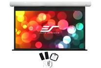 """Elite Screens Saker, 180-inch 16:9 with 12"""" Drop, Electric Motorized Drop Down Projection Projector Screen, SK180XHW2-E12"""