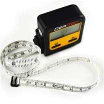 GemRed Digital Retractable Sewing Tape Measure with Circumfence Measure (Black)