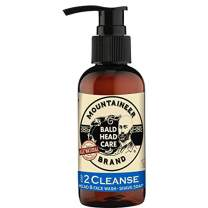 Mountaineer Brand Bald Head Care - Cleanse - Men's All Natural Head and Face Wash and Shave Soap 4 oz.