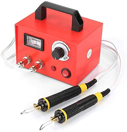 100W Temperature Adjustable Pyrography Machine, 23 Multifunction Wood Burning Tool Set, Professional Dual Pen Py Digital Pyrography Machine for Wood/Leather/Gourd, Best Gifts for Christmas (Red, Dual)