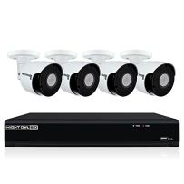 Night Owl Security 8-Ch 4K UHD IP Wired Smart Security Camera NVR with 2 Tb Local Storage, White (IH802-84BA-B)