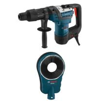 Bosch RH540M 1-9/16-Inch SDS-Max Combination Rotary Hammer with HDC250 SDS-Max Hammer Dust Collection Attachment