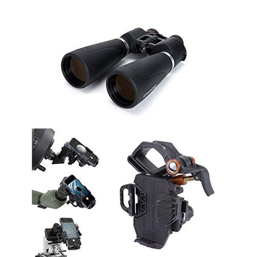 Celestron 15x70 SkyMaster Pro Binoculars for Astronomy with Universal Smartphone Adapter