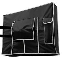 Outdoor TV Cover 40, 42, 43 inch - Weatherproof Protector for Flat TVs with Bottom Seal, 600D Waterproof Material. Extend Your TV Life.