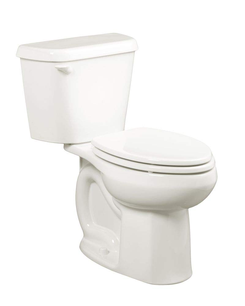 American Standard 221AA005.020 Colony 1.6 GPF 2-Piece Elongated Toilet with 12-In Rough GPF/12-Inch, White/Right Hand