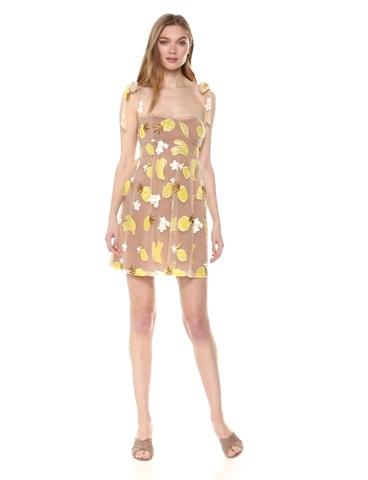 For Love & Lemons Women's Fruitpunch Sequin Mini Dress