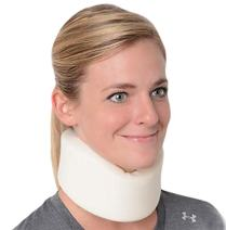 Advanced Orthopaedics Universal Cervical Collar for Neck Pain Relief, 2 1/2-Inch Height, White