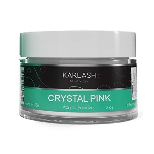 Karlash Professional Acrylic Powder Nails Crystal Pink 2 oz
