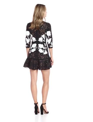For Love & Lemons Women's Mallorca Embroidery Dress