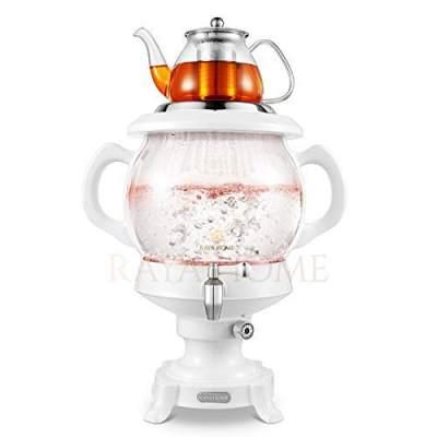 Russian Turkish Stainless Steel Charcoal Samovar 5 litres SAMOVAR Tea Water Made