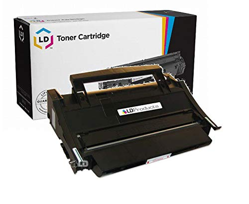 LD Remanufactured Toner Cartridge Replacement for Lexmark 4K00199 High Yield (Black)