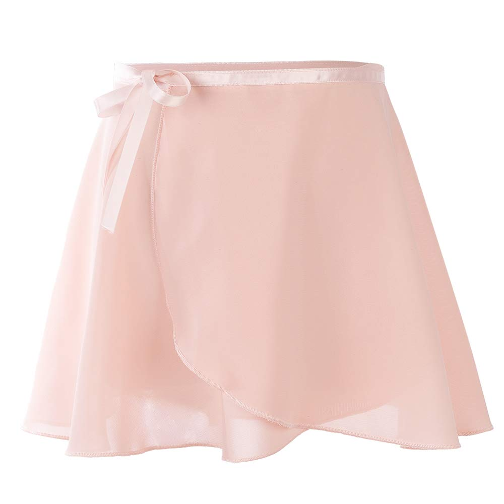 Soudittur Ballet Wrap Skirts Chiffon Dance Skirt for Toddler Girls/Women