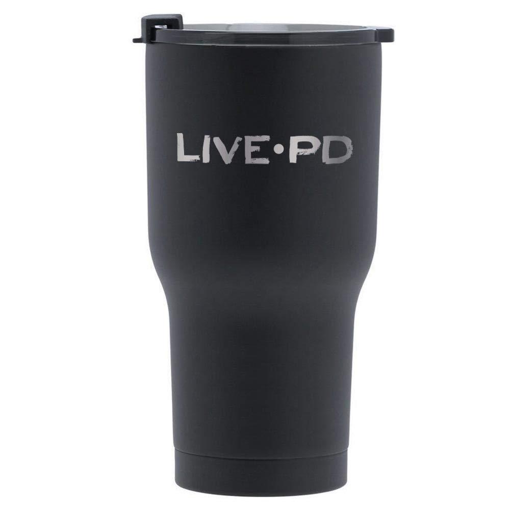 Live PD Tumbler-Black-20 oz