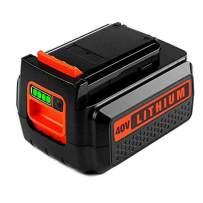 LBXR36 3.0AhLithium Battery for Black & Decker, 40V Max Battery for B&D LBX36 LBX2040 TC220 LHT2436 LSW36 LST136 LCC140 Series Cordless Power Tool for Black and Decker 40V 36V Batteries(1 Pack)