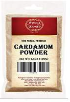 Spicy World Ground Cardamom Powder 3.5oz (Cardamon)