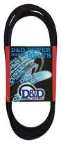 "D&D PowerDrive 8X260 Metric Standard Replacement Belt, A/4L, 1 -Band, 26"" Length, Rubber"