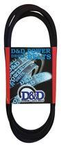 """D&D PowerDrive 109123 Power Lawnmower Replacement Belt, 63"""" Length, 0.5"""" Width"""