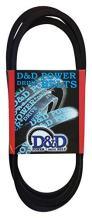 D&D PowerDrive A109 Dunlop Replacement Belt, Rubber, 1