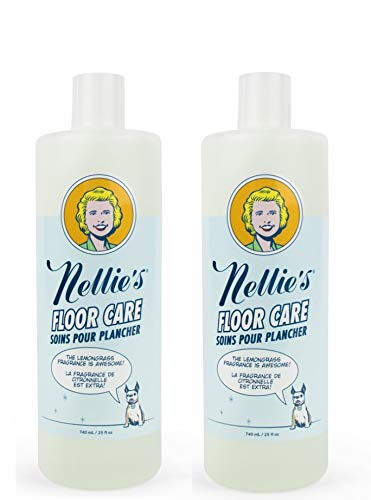 Nellie's Floor Cleaner 25 Ounces, Perfect Pairing with Nellie's Wow Mop (2)