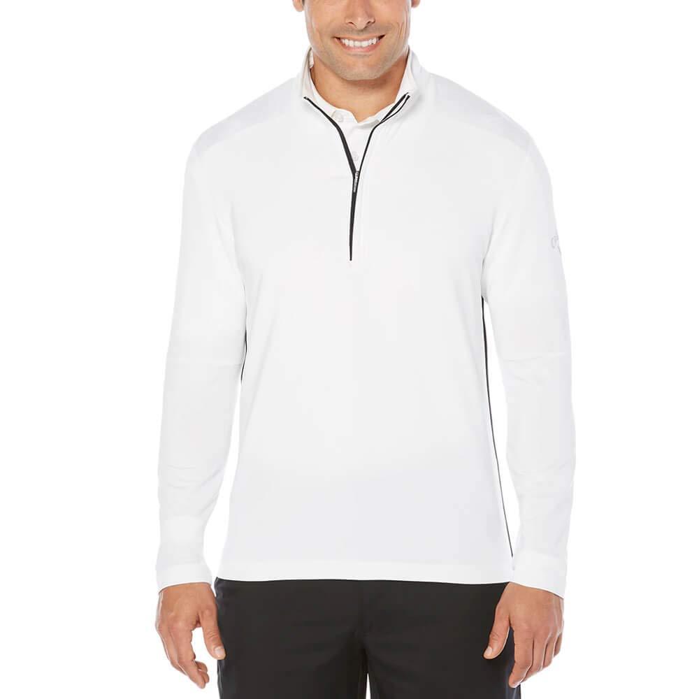 Callaway Men's Opti-Temp Long Sleeve Outlast Premium 1/4 Zip Midlayer Jacket