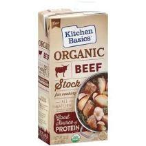 Kitchen Basics Organic Beef Stock, 32 fl oz